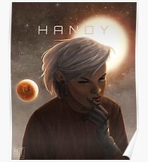 Handy Space Cover Poster