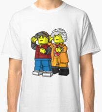 Back To The Future Lego Classic T-Shirt
