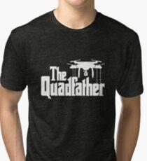 The Quadfather Tri-blend T-Shirt