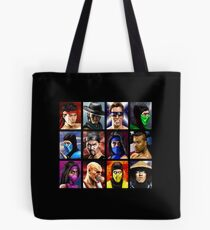 Mortal Kombat 2 - Character Select - Clean Tote Bag