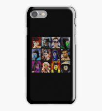 Mortal Kombat 2 - Character Select - Dirty iPhone Case/Skin
