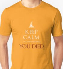 Keep Those Souls Calm  Unisex T-Shirt