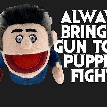 Always bring a gun to a puppet fight Ash Vs the Evil Dead by spookyruthy