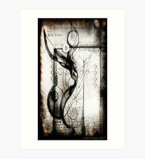 seed of abbadon Art Print