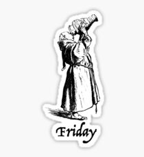 Thank God Its Friday Sticker