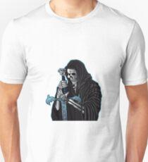 grim reaper with sword .grim reaper tattoo. Unisex T-Shirt