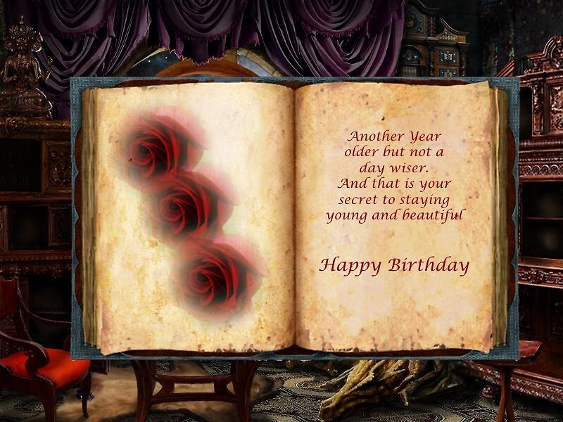 Happy Birthday by Mystique