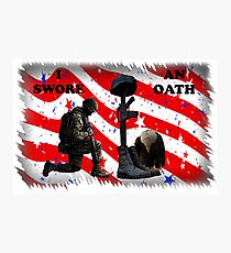 Respect our vets! Photographic Print