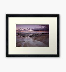 Bar Beach at Dusk 5 Framed Print