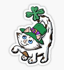 Irish Kitten Sticker