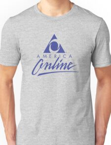 AOL America Online Urban Outfitters Dial-Up T-Shirt Unisex T-Shirt