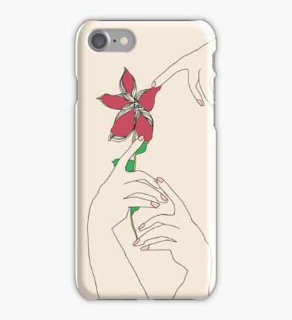 Floral Touch iPhone Case/Skin