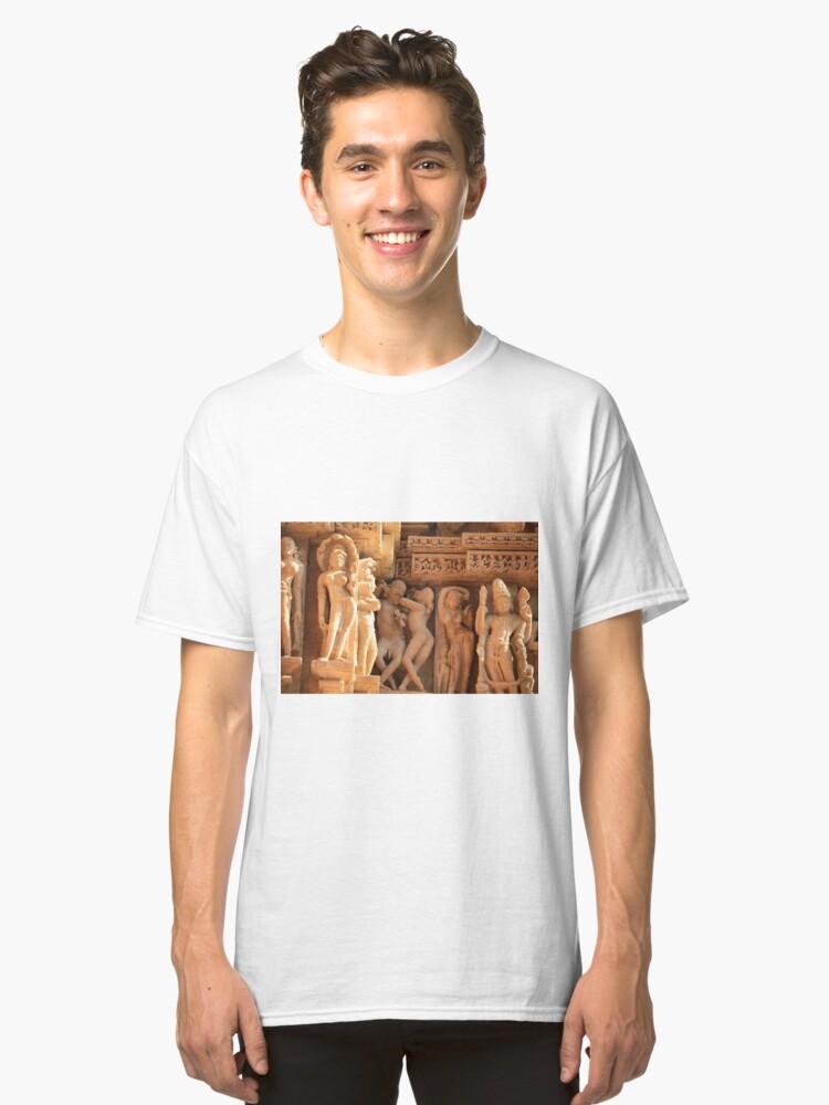 Alternate view of  Khajuraho, birthplace of the Karma Sutra Classic T-Shirt