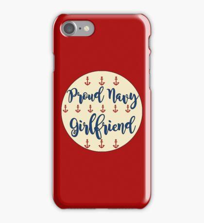 Proud Navy Girlfriend iPhone Case/Skin