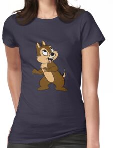 chip and dale #2 Womens Fitted T-Shirt