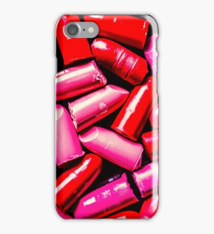 Cosmetic abstract art iPhone Case/Skin