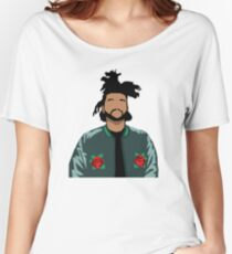 Weeknd Roses Women's Relaxed Fit T-Shirt