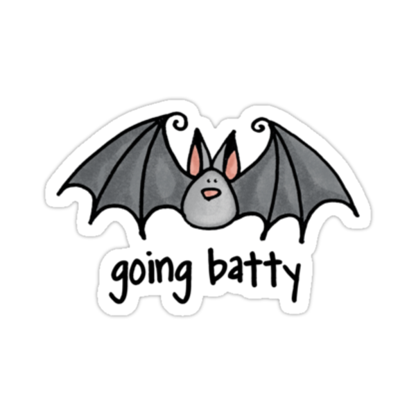 going batty by Corrie Kuipers
