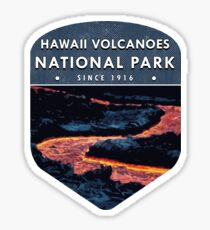 Hawaii Volcanoes National Park 2 Sticker