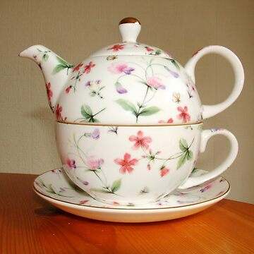 Cup and tea pot combo by sellitnow