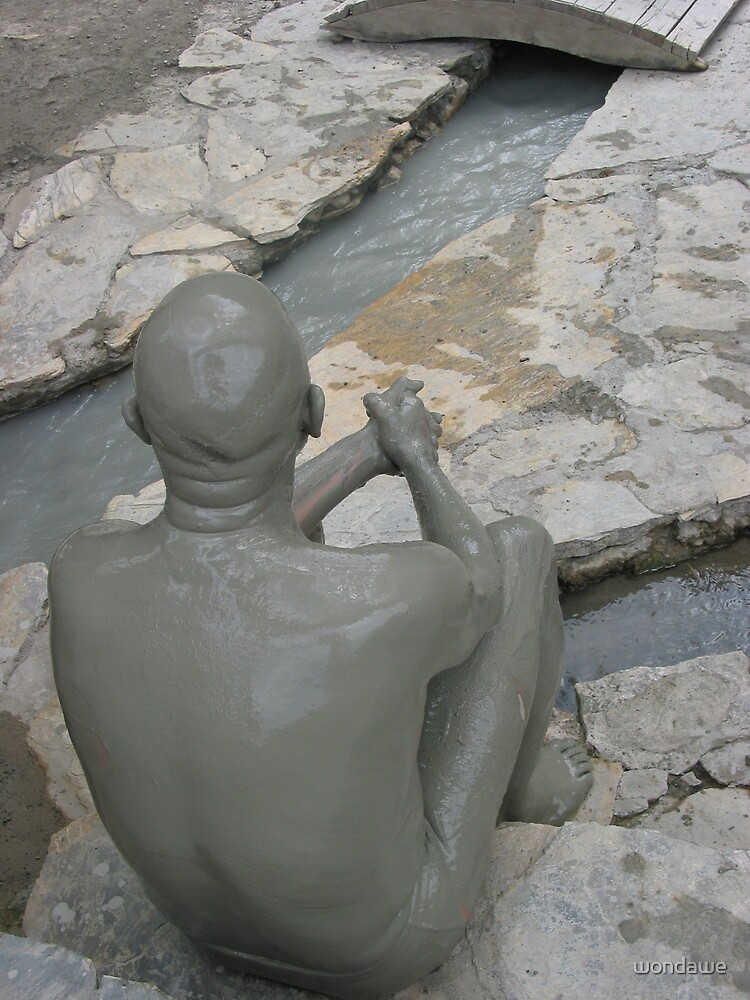 Human Mud Sculpture by wondawe