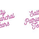 Mugocracy : Salty Patriarchal Tears (Pink) by merimeaux