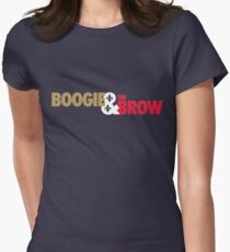 Boogie & The Brow - (Gold/White/Red) T-Shirt