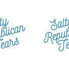 Mugocracy : Salty Republican Tears (Blue) by merimeaux