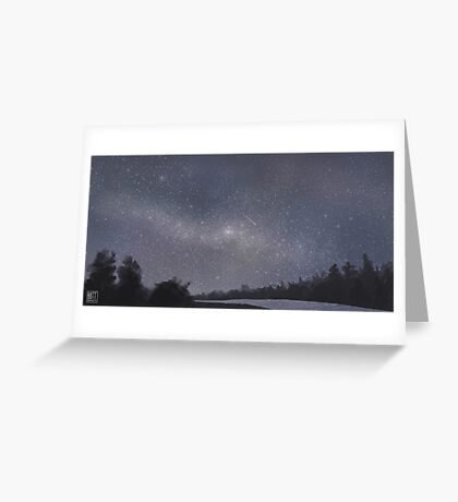 Flagstaff Milky Way Greeting Card