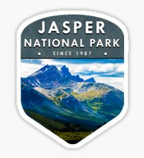 Jasper National Park 2 Sticker