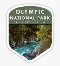 Olympic National Park 2 Sticker