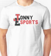 Jonny Esports (Black Font) Unisex T-Shirt