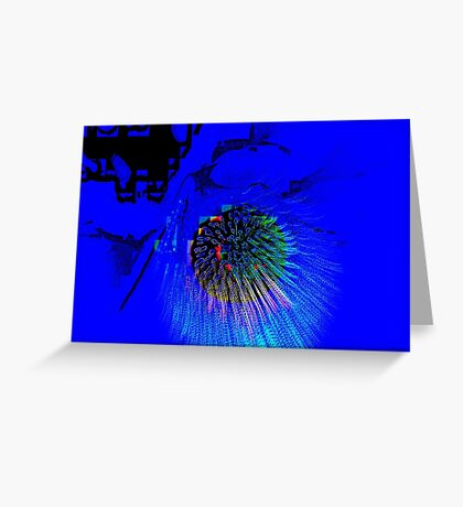 COMET 2 Greeting Card