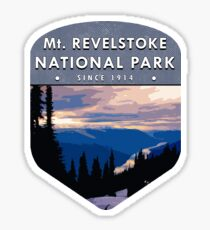 Mount Revelstoke National Park 2 Sticker