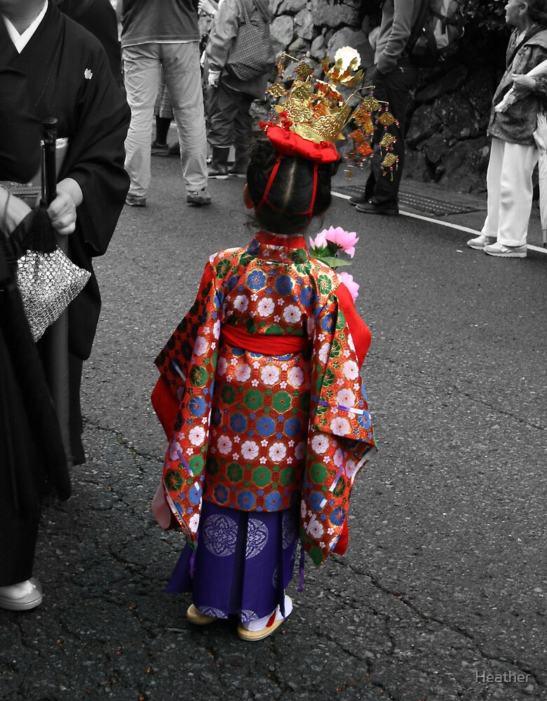 Matsuri Girl by Heather