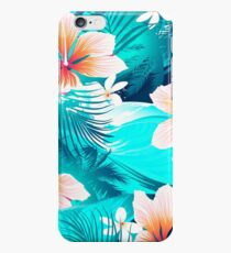 Hibiscus flowers at the beach iPhone 6 Case