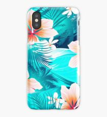 Hibiscus flowers at the beach iPhone Case/Skin