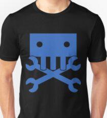 Robot Crossbones-1 Unisex T-Shirt