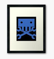 Robot Crossbones-1 Framed Print