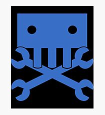 Robot Crossbones-1 Photographic Print