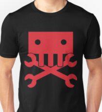 Robot Crossbones-2 Unisex T-Shirt