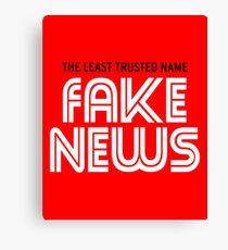Fake News 3 Canvas Print