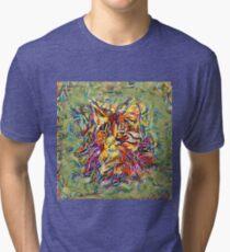 Ninja Cat. Deep Neural Networks #Art Tri-blend T-Shirt