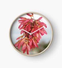 Red Maple Clock