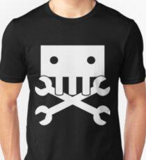 Robot Crossbones-3 Unisex T-Shirt