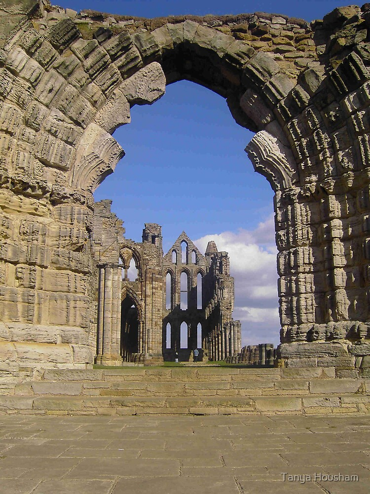 Whitby Abbey Arch by Tanya Housham