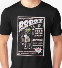 Robot Found On Earth Unisex T-Shirt
