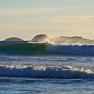 Evening waves at Wilsons Promontory. by johnrf