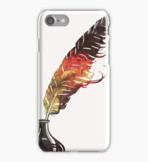 Glactic Quill iPhone Case/Skin