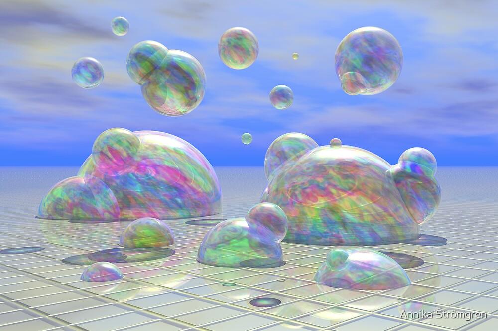 Bubbles by Annika Strömgren